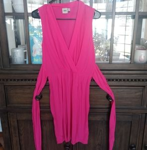 ASOS Sleeveless Bright Pink Dress size 2